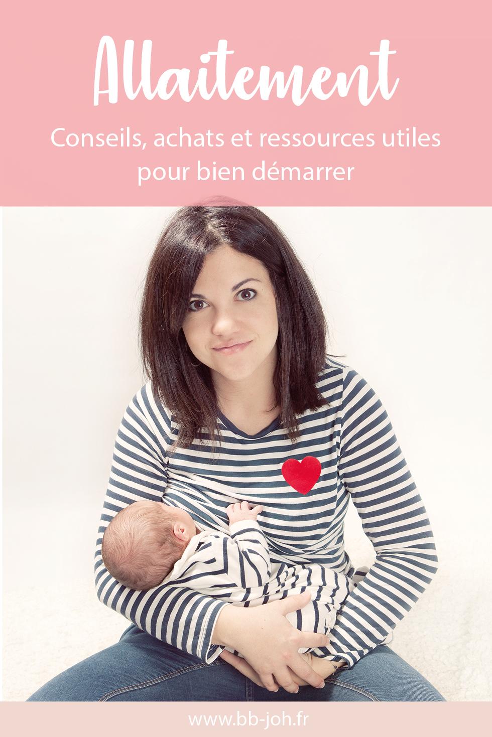 conseils achats ressources allaitement