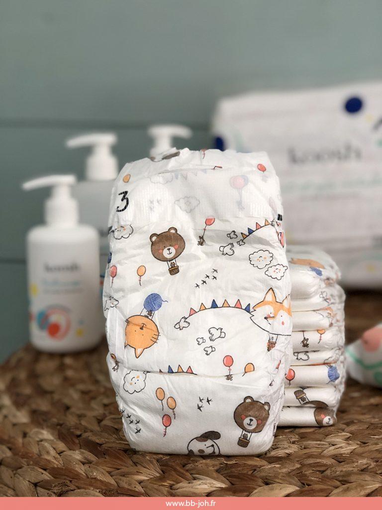 couches produits hygiène bébé sains france