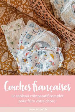 comparatif marques couches françaises
