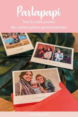 Parlapapi test avis code promo