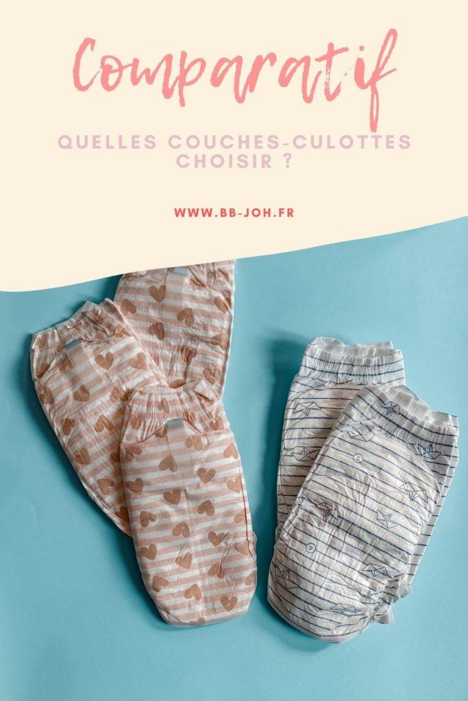 choisir couche culottes