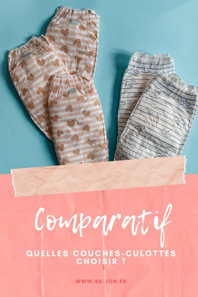 comparatif couches culottes
