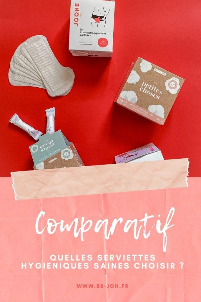 composition serviettes hygieniques