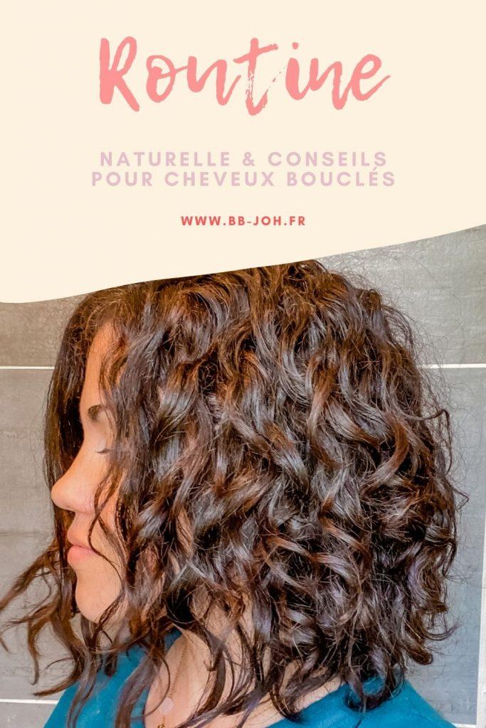 routine cheveux bouclés naturel