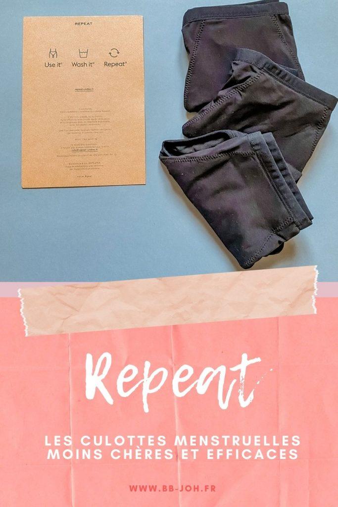 repeat undies test